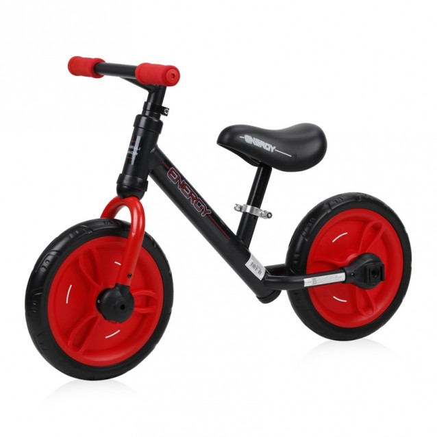 Lorelli Junior BALANCE BIKE ENERGY 2 in1 BLACK&RED  (10050480002)