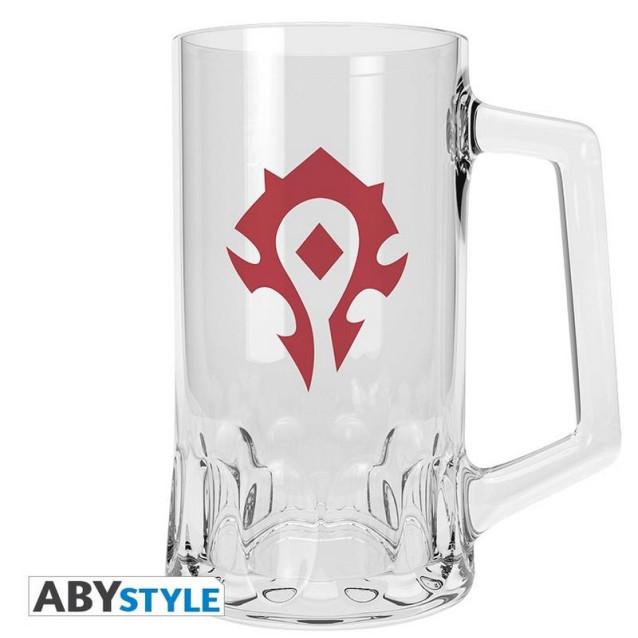 World of Warcraft - Horde Beer Glass (ABYVER093)
